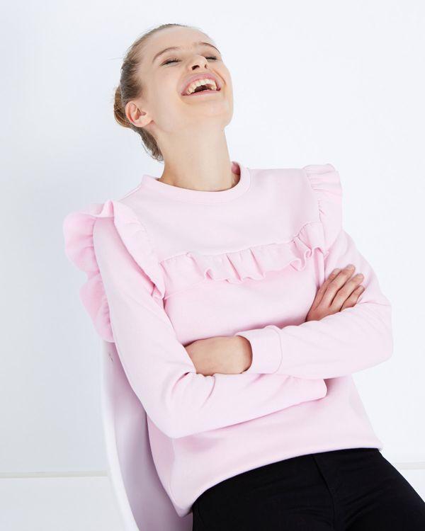 Savida Ruffle Front Sweatshirt