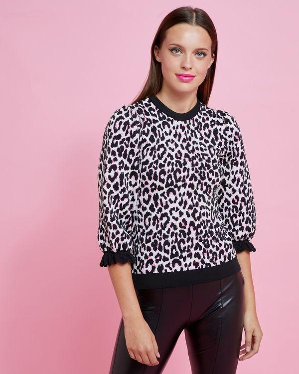 Savida Penny Leopard Jumper
