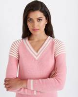 pink Savida Cricket Ridge Shoulder Jumper