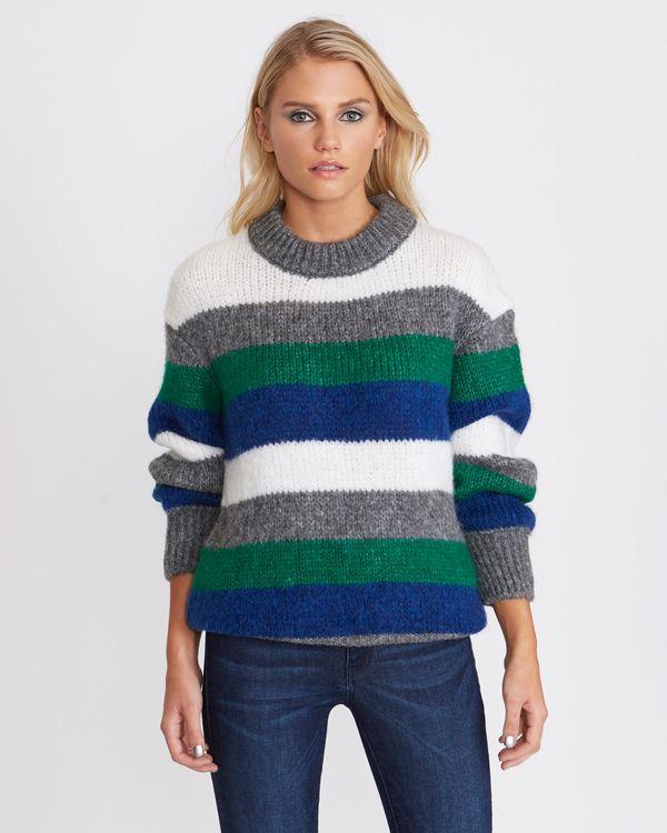 Savida Multi-Coloured Stripe Jumper