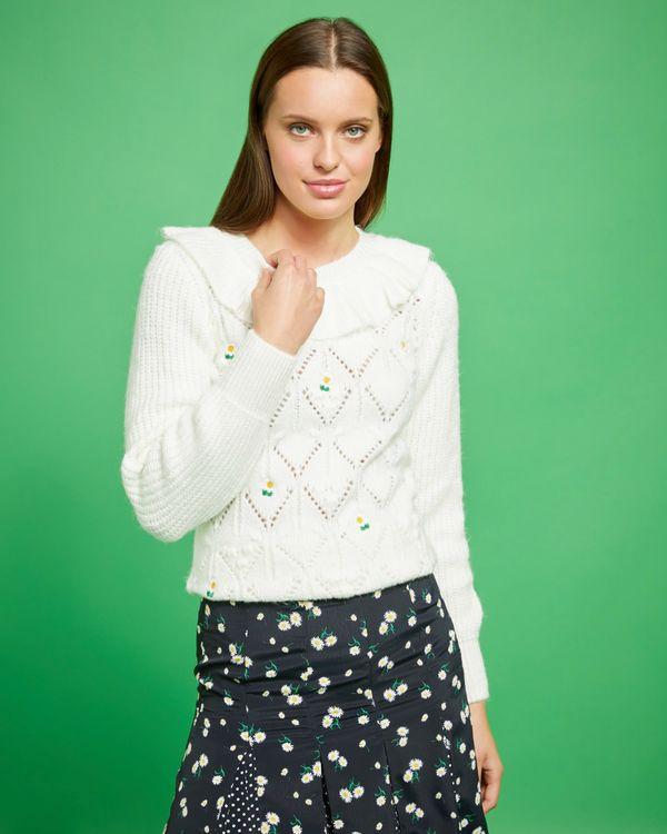 Savida Amy Embroidered Jumper