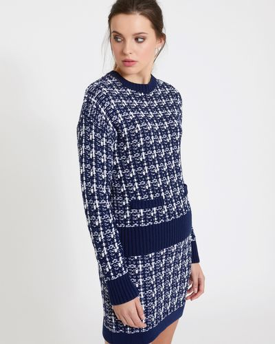 Savida Tweed Jacquard Co-Ord Jumper