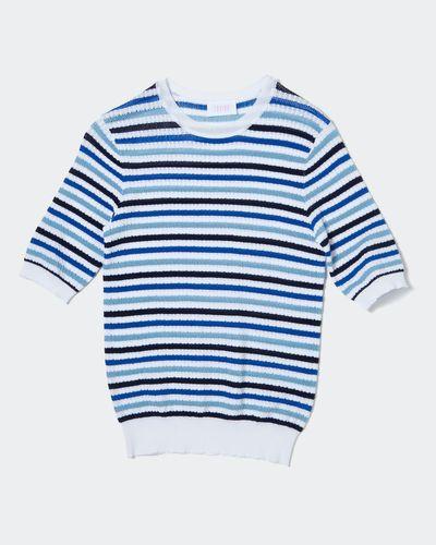 Savida Stripe Knit Jumper thumbnail