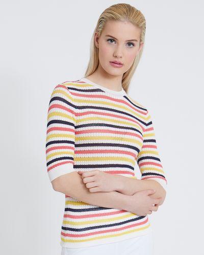 Savida Stripe Knit Jumper