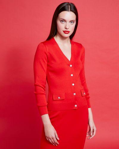 Savida Jewel Button Co-Ord Cardigan