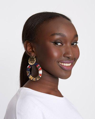 Savida Satin Loop Earrings