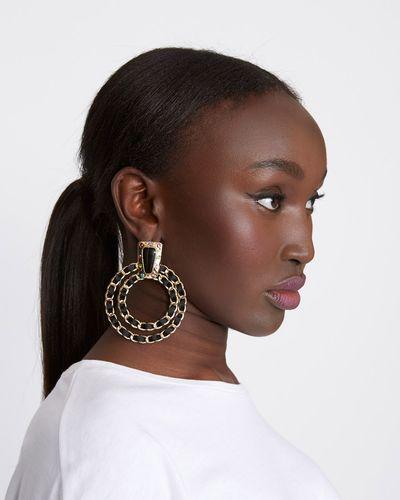 Savida Double Loop Earrings
