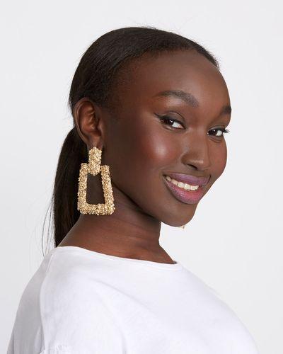 Savida Rectangle Drop Earrings