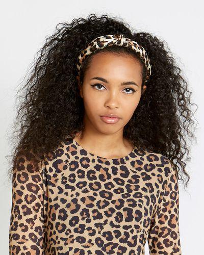 Savida Leopard Print Hairband