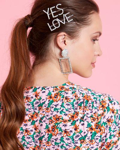 Savida Slogan Hair Clips - Pack Of 2