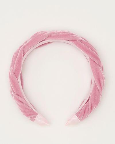 Savida Velvet Plait Hairband
