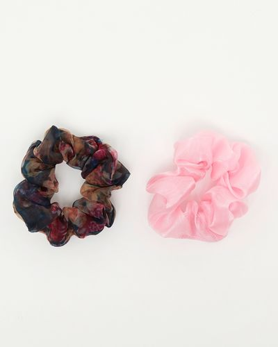 Savida Rose Scrunchie - Pack Of 2