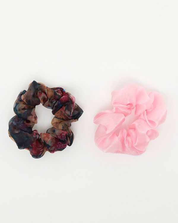 Savida Rose Scrunchie - Pack Of 2