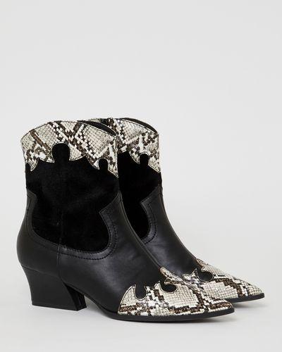 Savida Snake Cowboy Boots