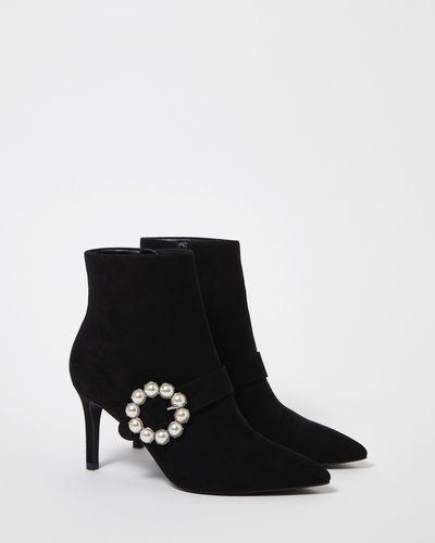 Savida Pearl Buckle Boots
