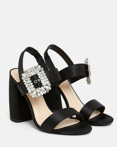 Savida Diamante Buckle Heels