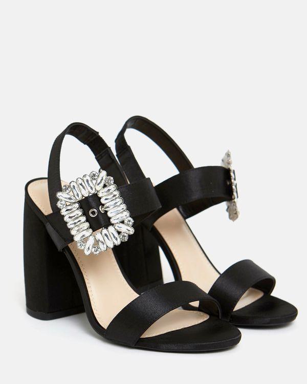 Savida Diamante Buckle Heels