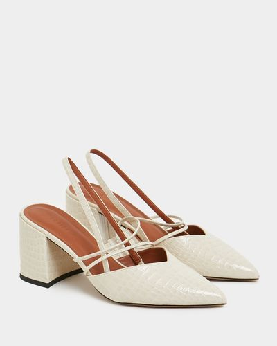 Savida Block Heel Shoe