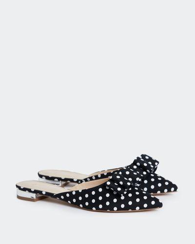 Savida Polka Dot Bow Flat