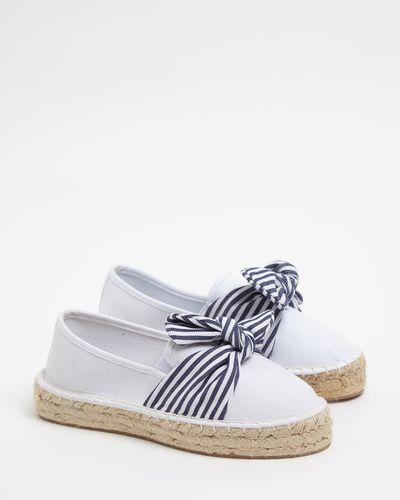 Savida Canvas Bow Shoe