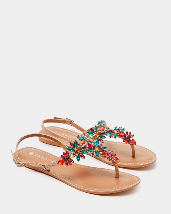 Savida Diamante Detail Sandal