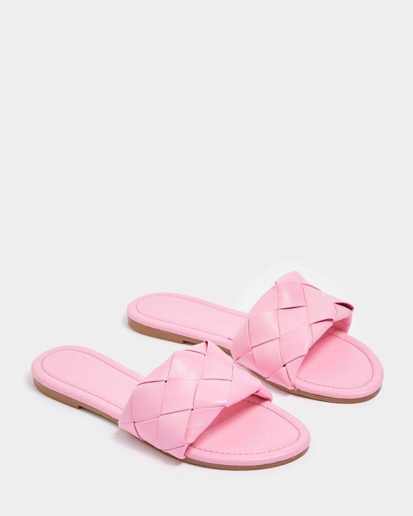Savida Woven PU Sandals
