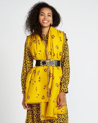 Savida Leopard Design Scarf