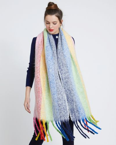 Savida Multicolour Stripe Scarf