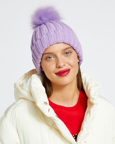 Savida Ribbed Pom Hat thumbnail