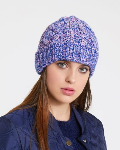 Savida Lurex Plait Detail Hat