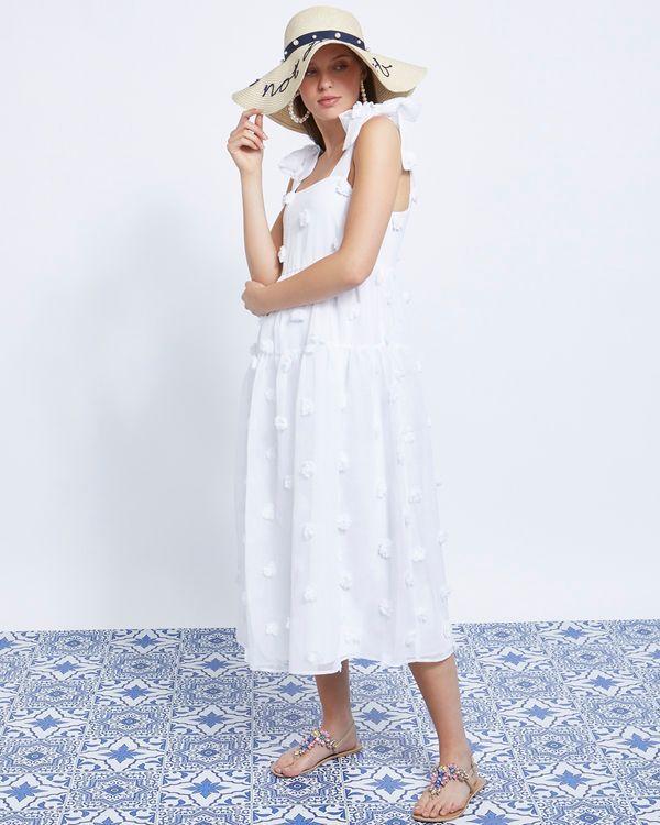 Savida Pearl Detail Beach Hat