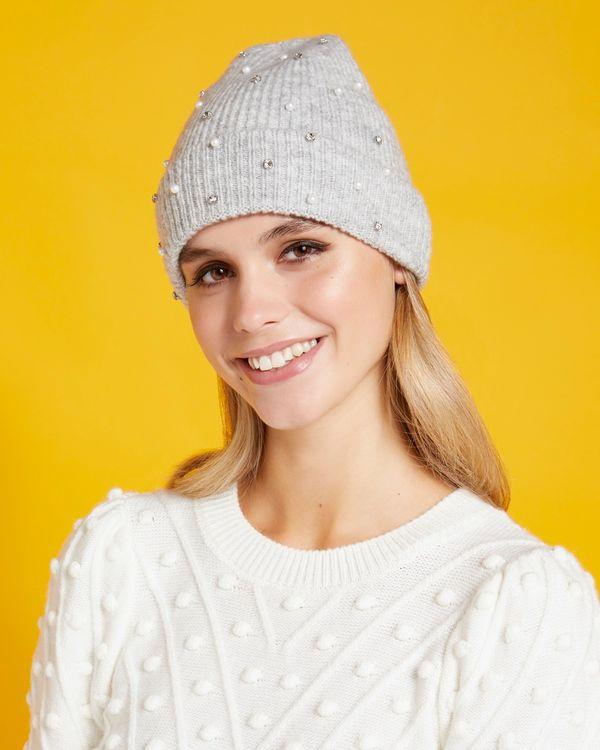 Savida Pearl And Jewel Beanie Hat