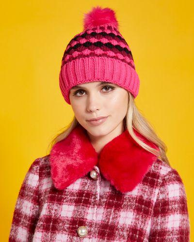 Savida Fleece Lined Multicolour Hat