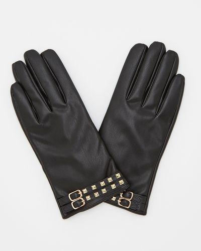 Savida Stud Strap Detail Gloves