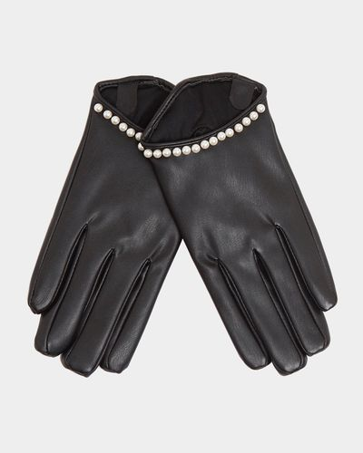 Savida Pearl Detail Gloves