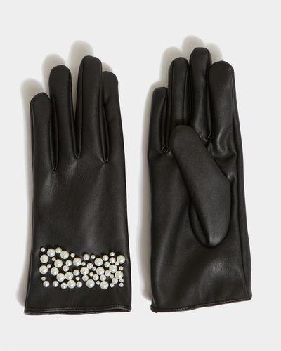 Savida Pearl Detail Gloves thumbnail