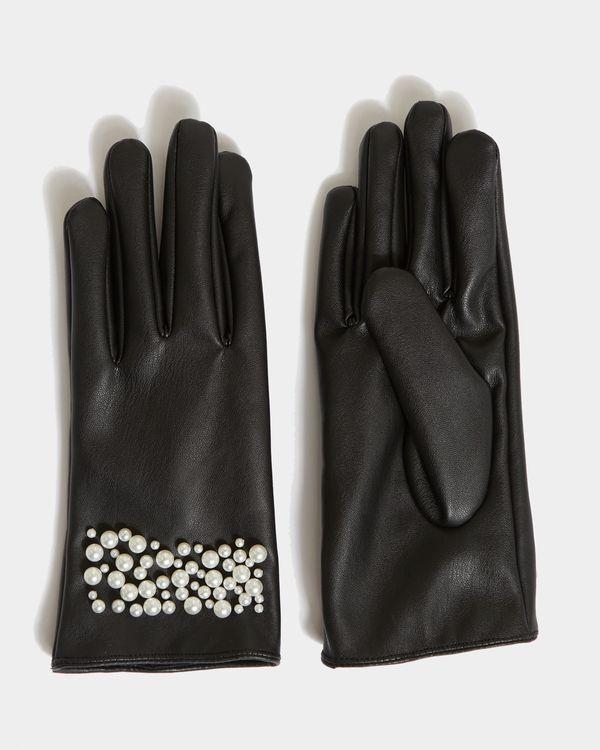 Savida Pearl Detail Gloves