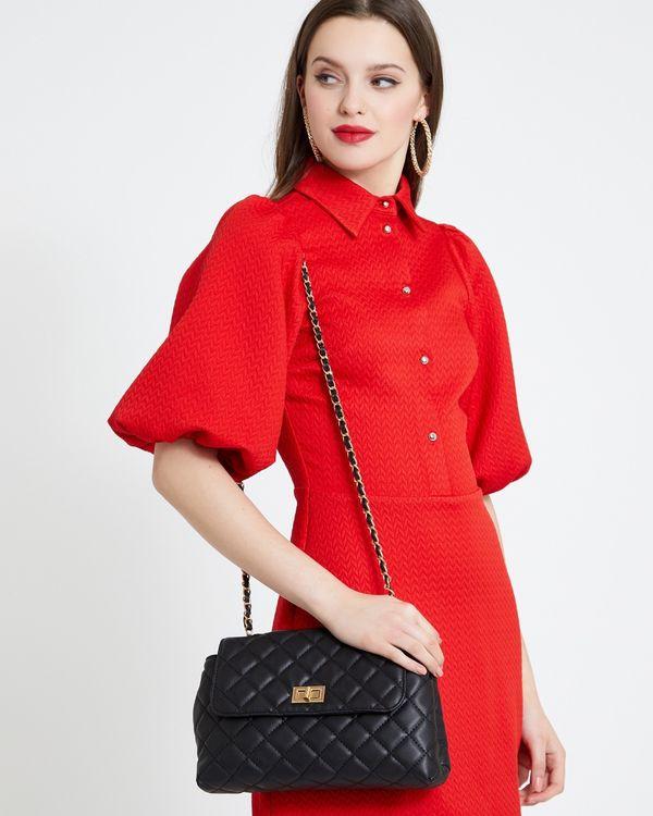 Savida Quilted Crossbody Bag