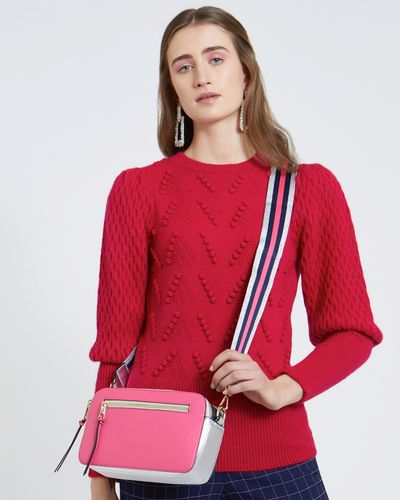 Savida Stripe Strap Bag
