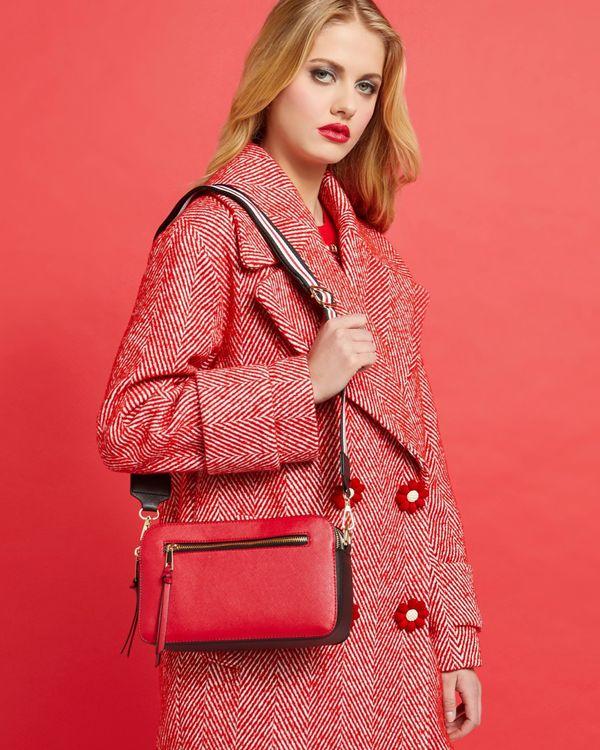 Savida Stripe Strap Bag
