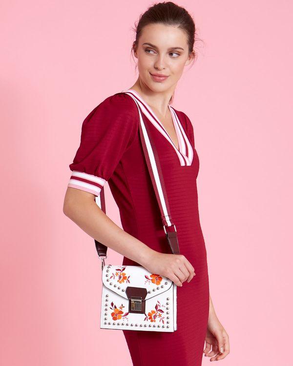 Savida Floral Embroidered Bag