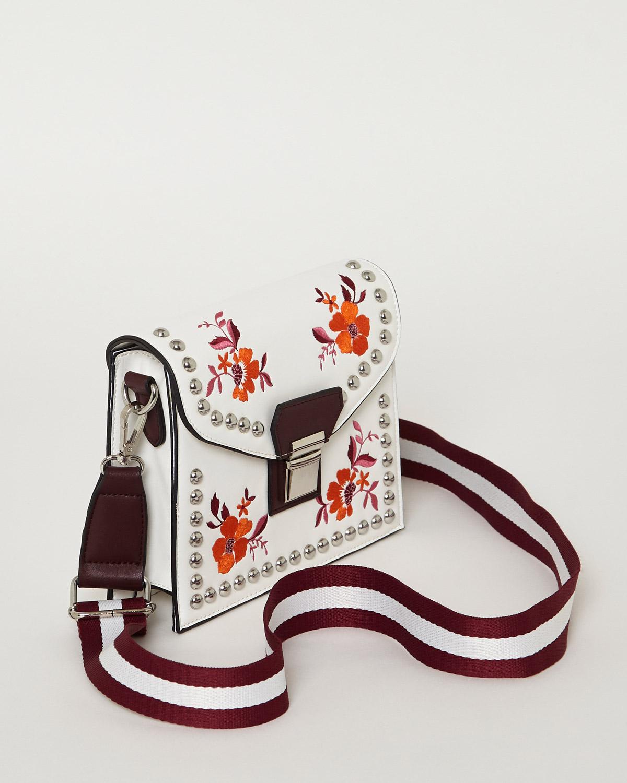 Floral Stud Bag