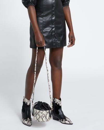 Savida Snake Bucket Bag