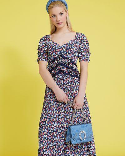 Savida Jacquard Jewel Bag