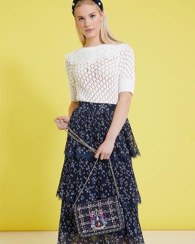 Savida Tweed Jewel Bag