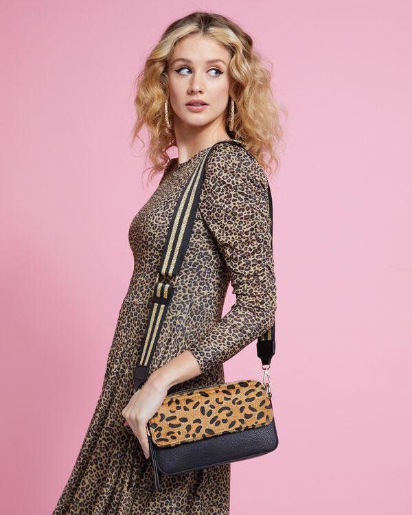 Savida Leopard Crossbody Handbag