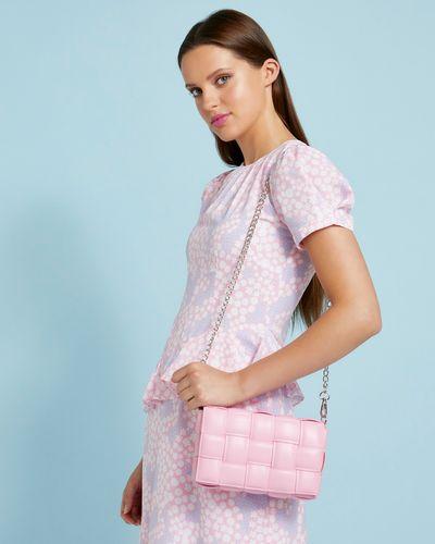 Savida Woven PU Padded Bag