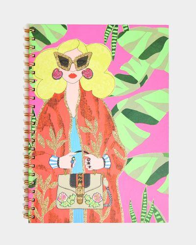 Savida A4 Glitter Notebook