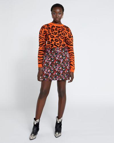 Savida Floral Print Skirt
