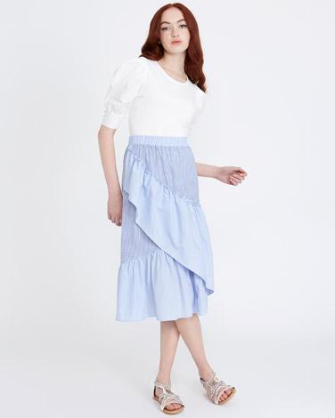 stripeSavida Stripe Skirt